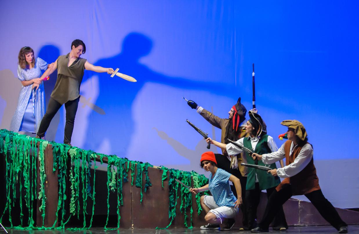 Η θεατρική παράσταση ΠΗΤΕΡ ΠΑΝ σήμερα στο Κέντρο Πολιτισμού Γρεβενών