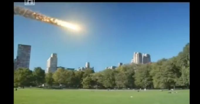 video Μετεωρίτης χτυπά τη γη – Έχει συμβεί, δείτε τι έγινε
