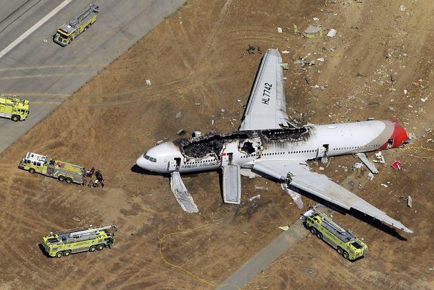 Αεροπορική τραγωδία στο Σαν Φρανσίσκο – Δέκα συγκλονιστικές φωτογραφίες
