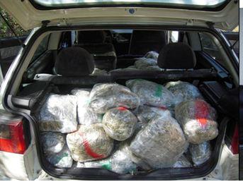 Φωτογραφίες – Μεγάλη επιχείρηση της Αστυνομίας Γρεβενών – Εντοπίστηκε ΙΧ αυτοκίνητο με 120 κιλά χασίς στο χωριό Ανάβρυτα -Διαβάστε την επίσημη ανακοίνωση της Αστυνομίας