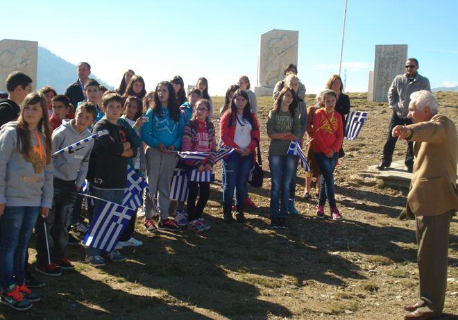 Αννίτσα: Φόρος τιμής στους αγωνιστές του Έπους του 1940, από μαθητές των Γρεβενών