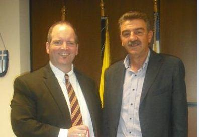 Ο Πρόξενος των Η.Π.Α στον Αντιπεριφερειάρχη Γρεβενών κ. Γεώργιο Δασταμάνη
