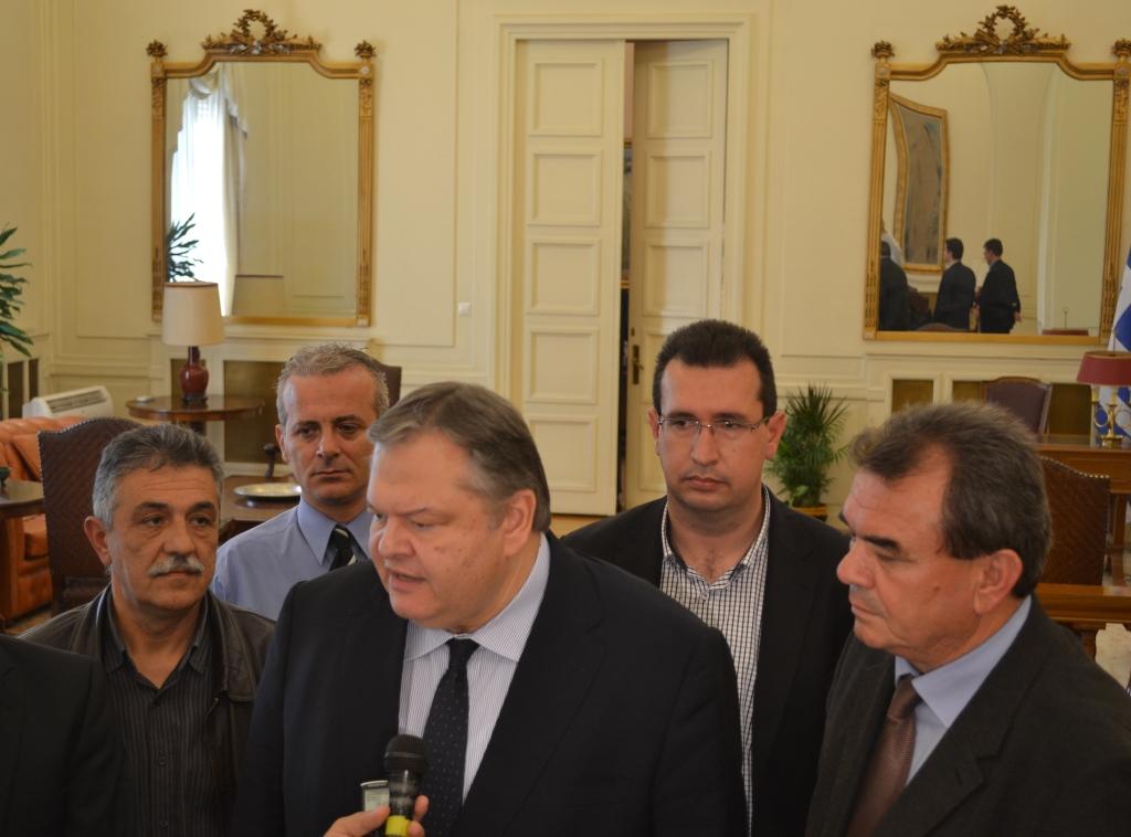 Συνάντηση ΠΟΑΣΥ με τον πρόεδρο του ΠΑΣΟΚ και Αντιπρόεδρο της Κυβέρνησης κ. Ευάγγελο Βενιζέλο