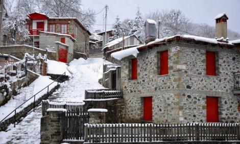 Πώς η Μηλιά, ένα ορεινό χωριό στην Πίνδο, κατάφερε να μηδενίσει την ανεργία [εικόνες]