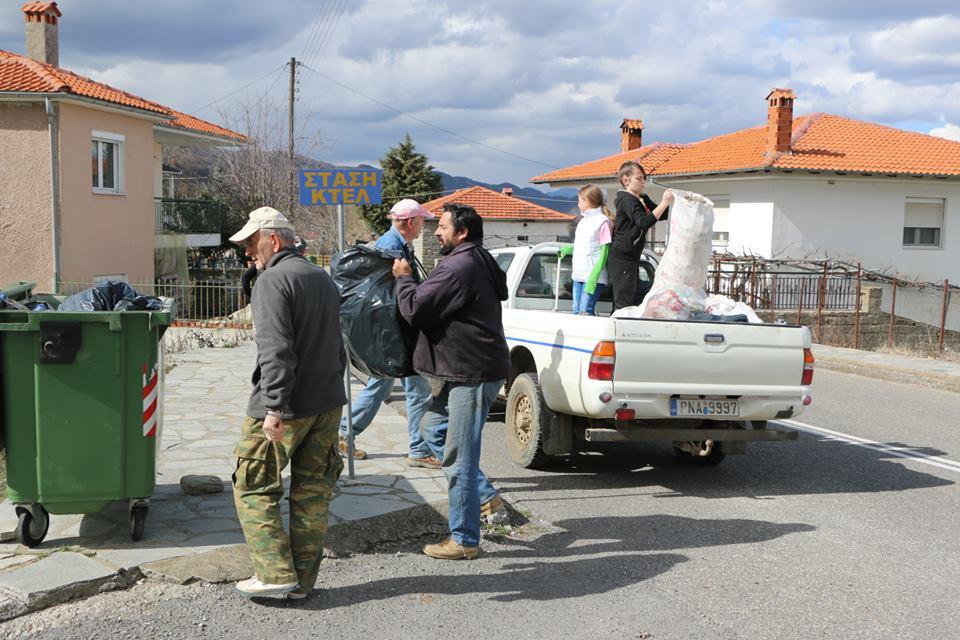 Ο Σύλλογος Καληράχης καθάρισε 2χλμ δρόμους του χωριού