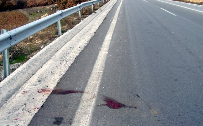 θανατηφόρο τροχαίο στην παλαιά Εθνική Οδό Βέροιας – Κοζάνης