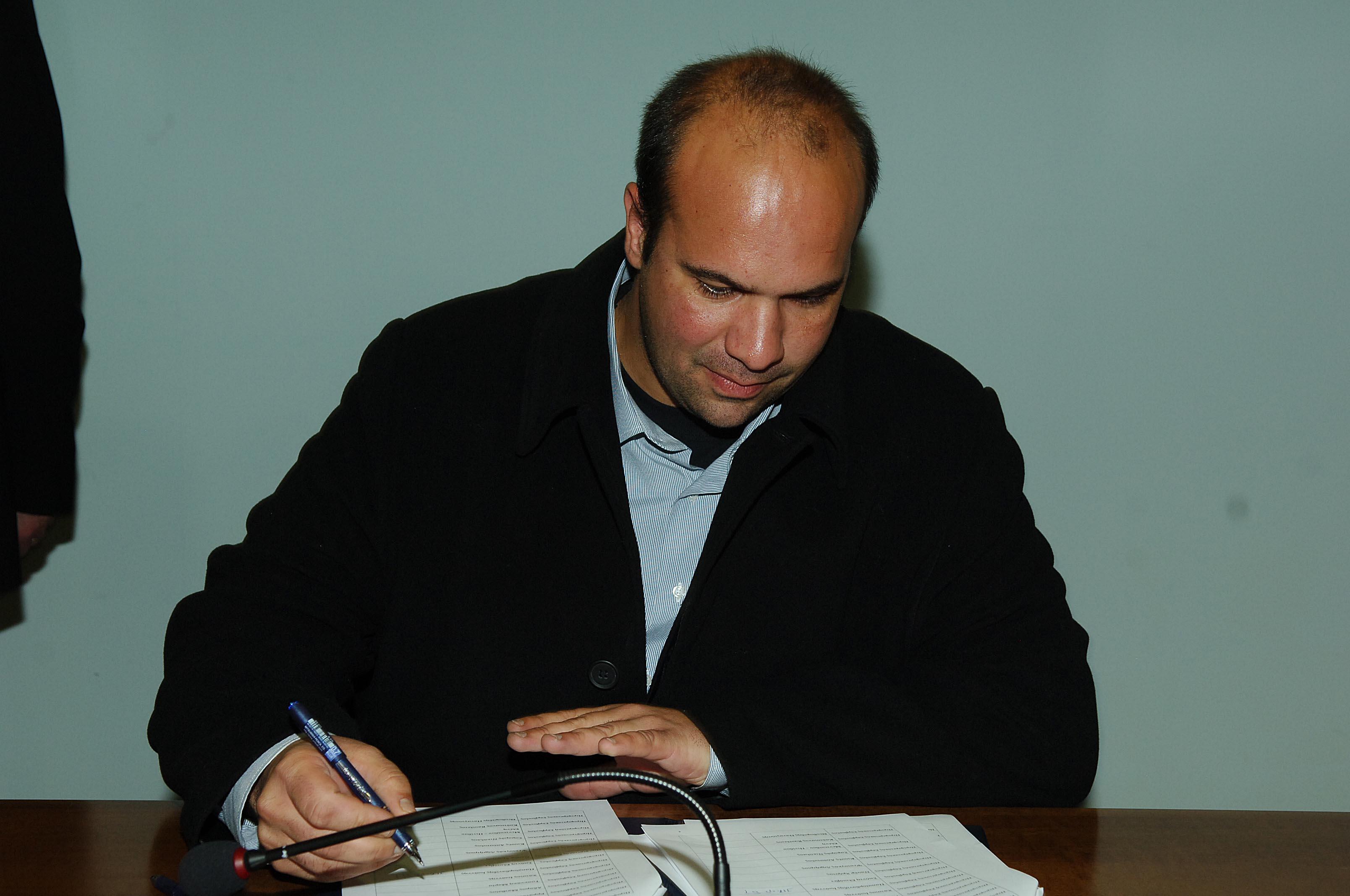 Παρουσίαση του νυν περιφερειακού συμβούλου και υποψηφίου Αντιπεριφερειάρχη Γρεβενών κ. Ιωάννη Γιάτσιου