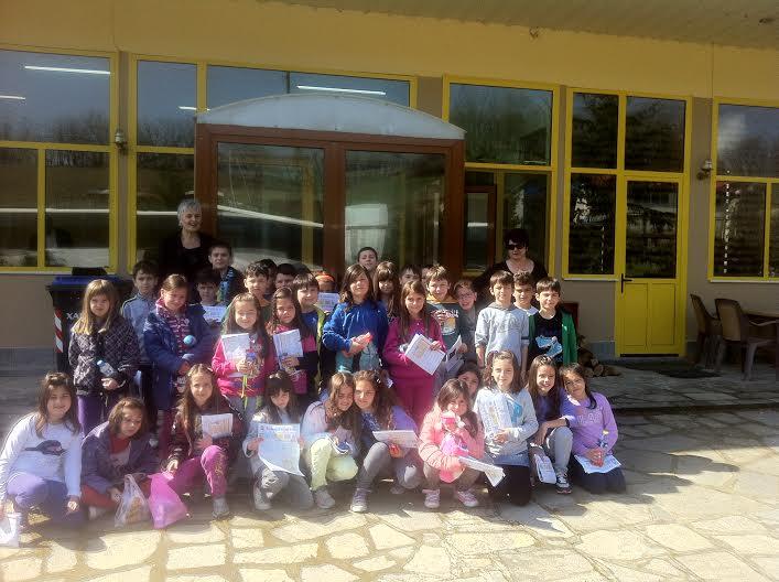 Μαθητές του 4ου Δημοτικού Σχολείου, επισκέφθηκαν τις εγκαταστάσεις της ΔΗΜΟΣΙΟΓΡΑΦΙΚΗΣ Α.Ε.