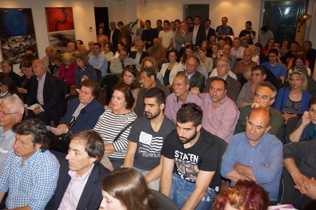 Σε μια πλημμυρισμένη από ετεροδημότες αίθουσα στο ξενοδοχείο Daios στην παραλία της Θεσσαλονίκης  παρουσίασε τις θέσεις του  συνδυασμού του ο Υποψήφιος Δήμαρχος Γρεβενών κ. Γιώργος Δασταμάνης