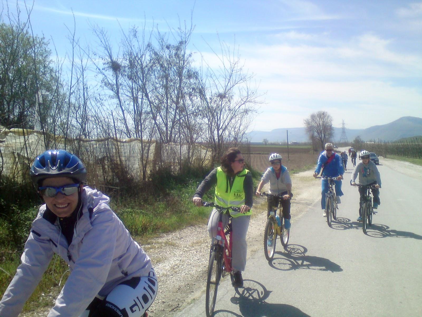 Αναβολή ποδηλατοβόλτας στη λίμνη Αώου