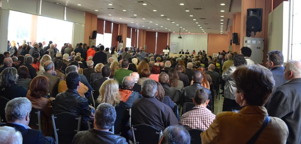 «Βούλιαξε» το Εκθεσιακό Κέντρο Κοζάνης στην παρουσίαση του συνδυασμού ΕΛΠΙΔΑ (φωτογραφίες)
