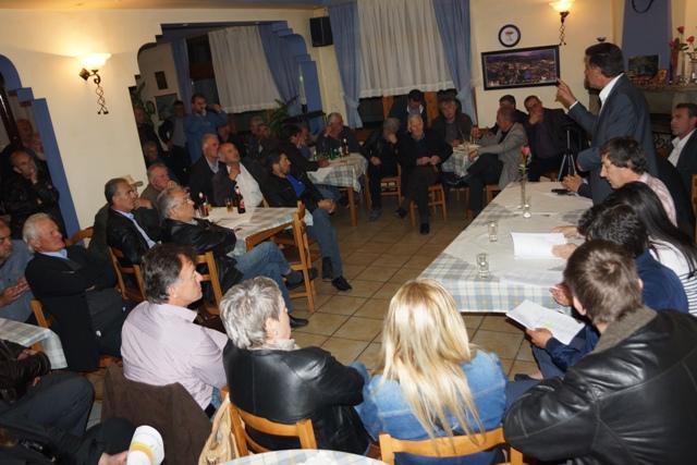 Το Μεσολούρι, το Δοτσικό, τον Έλατο, την Καληράχη και το Μέγαρο επισκέφτηκε το απόγευμα της Παρασκευής ο Υποψήφιος Δήμαρχος Γρεβενών Γιώργος Δασταμάνης (φωτορεπορτάζ)