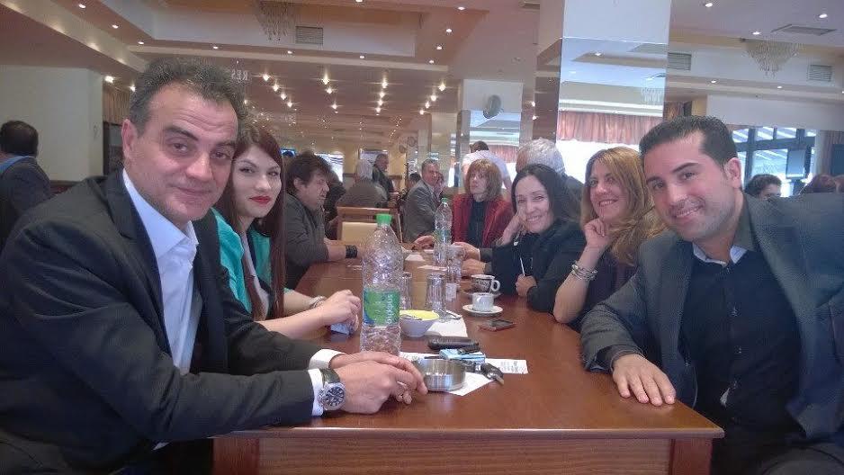 Στη Σιάτιστα βρέθηκε ο υποψήφιος περιφερειάρχης Θεόδωρος Καρυπίδης μαζί με τον υποψήφιο αντιπεριφερειάρχη Κοζάνης Πλακεντά Παναγιώτη