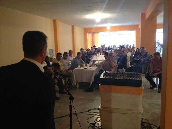 Ο Θεόδωρος Καρυπίδης και όλοι οι περιφερειακοί σύμβουλοι του συνδυασμού «ΑΝΑΤΡΟΠΗ Δημιουργία» από τις τέσσερις Περιφερειακές Ενότητες, συναντήθηκαν χθες στο εκλογικό κέντρο στην Κοζάνη