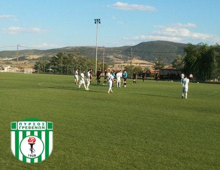 Νίκη για τον Πυρσό Γρεβενών στο εκτός έδρας φιλικό  με την ομάδα ΑΕΠ Καραγιαννίων