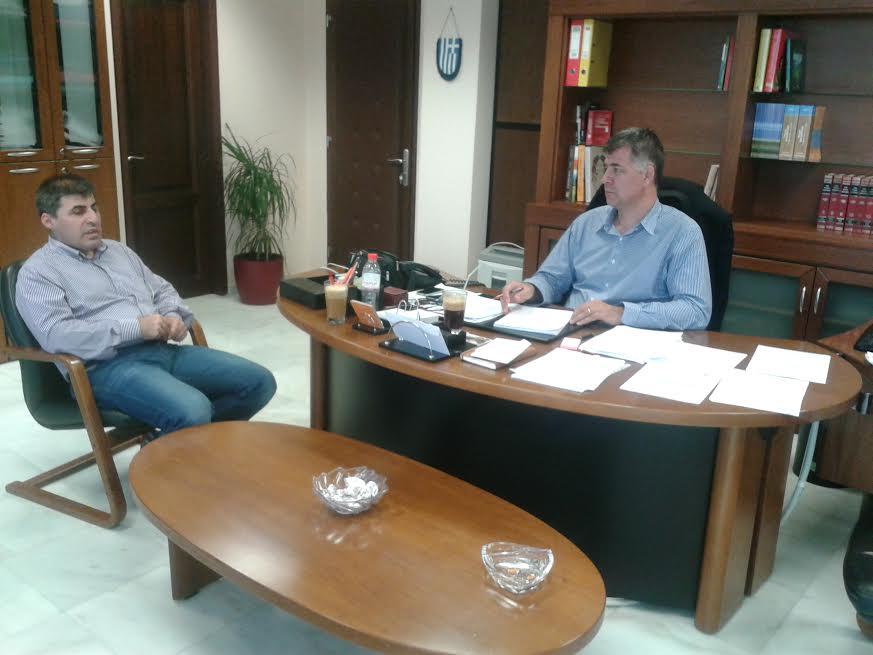 Συνάντηση του Αντιπεριφερειάρχη Γρεβενών με τον Πρόεδρο του Παραρτήματος του ΤΕΙ Δ.Μακεδονίας