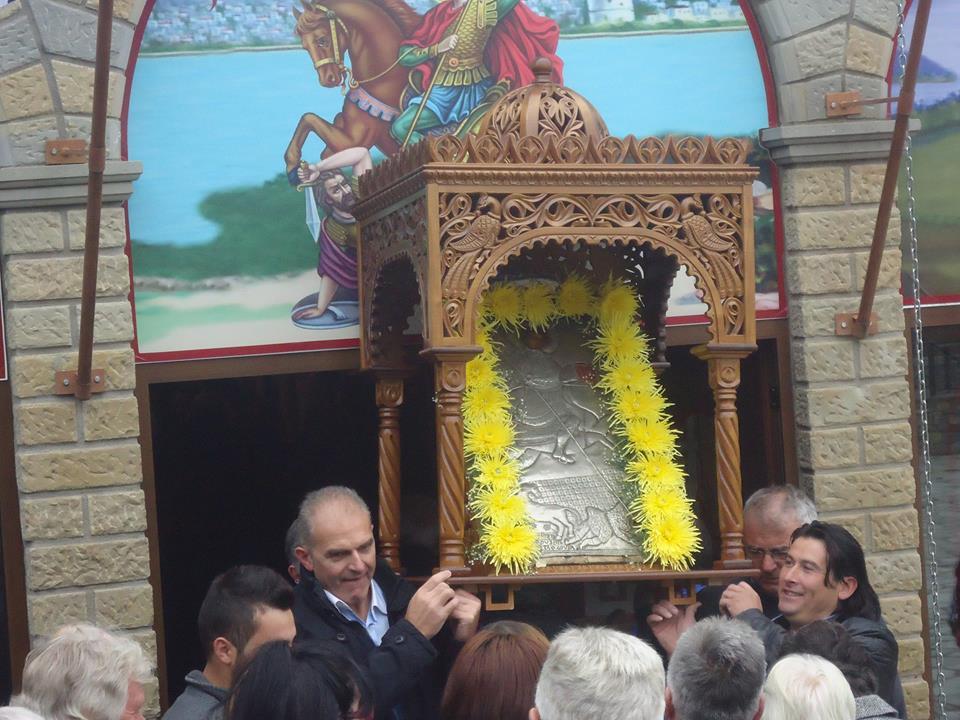Με μεγαλοπρέπεια γιορτάστηκε στο Μέγαρο ο Άγιος Δημήτριος (Φωτογραφίες)