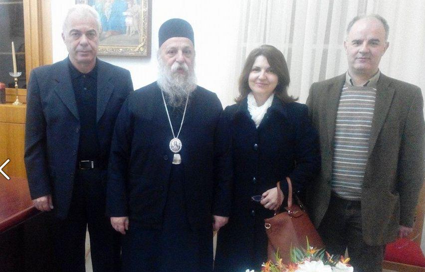 Με τον Σεβασμιότατο Μητροπολίτη της Ι. Μ. Γρεβενών κ. Δαβίδ συναντήθηκε αντιπροσωπεία του Ιατρικού Συλλόγου Γρεβενών