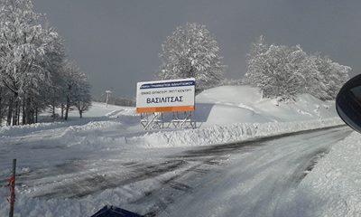 Εκτελείται ο αποχιονισμός από το Δήμο και την Αντιπεριφέρεια Γρεβενών (φωτογραφίες)