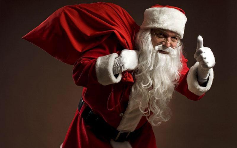 Ο Άγιος Βασίλης στα Γρεβενά (βίντεο)