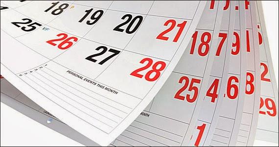 Αυτές είναι οι αργίες του 2015 – Πότε πέφτουν τριήμερα