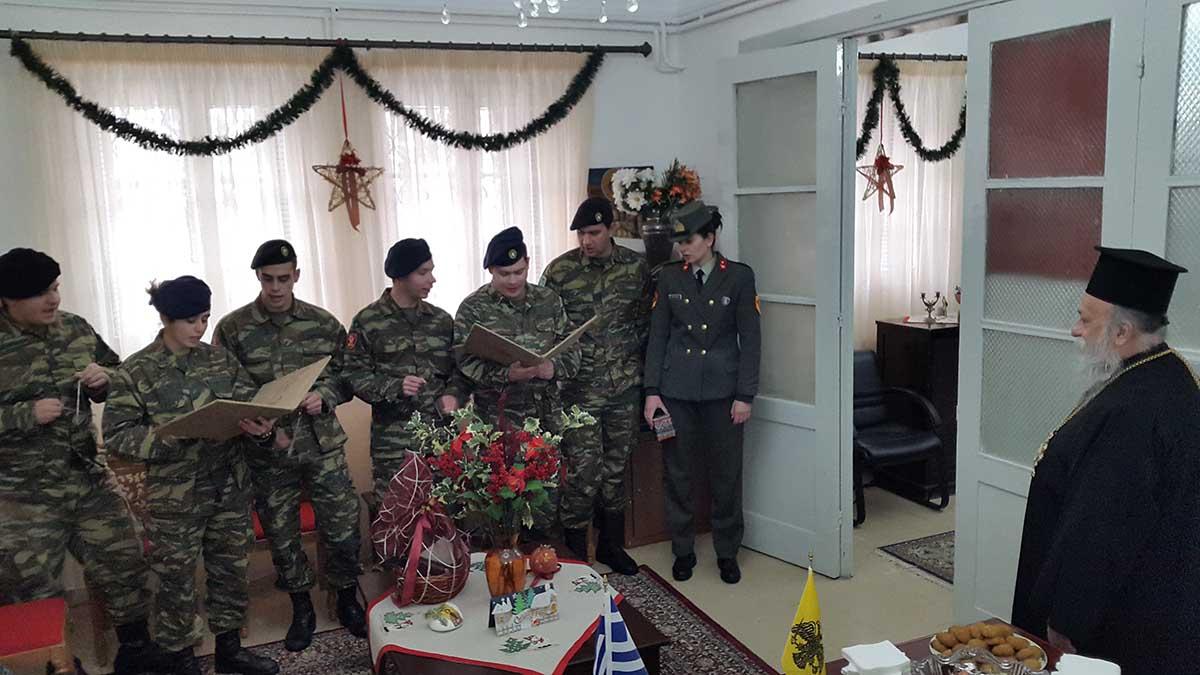 Ο Μητροπολίτης Γρεβενών κ.κ Δαβίδ και οι ευχές από τον Στρατό και τους Συλλόγους (φωτογραφίες)