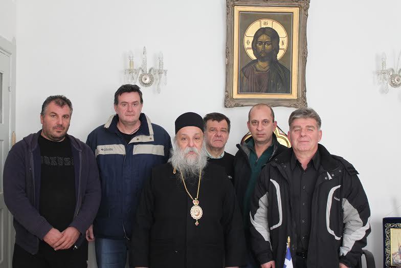 Τον Σεβασμιότατο Μητροπολίτη Γρεβενών επισκέφτηκε η διοίκηση του Γυμναστικού Συλλόγου Γρεβενών