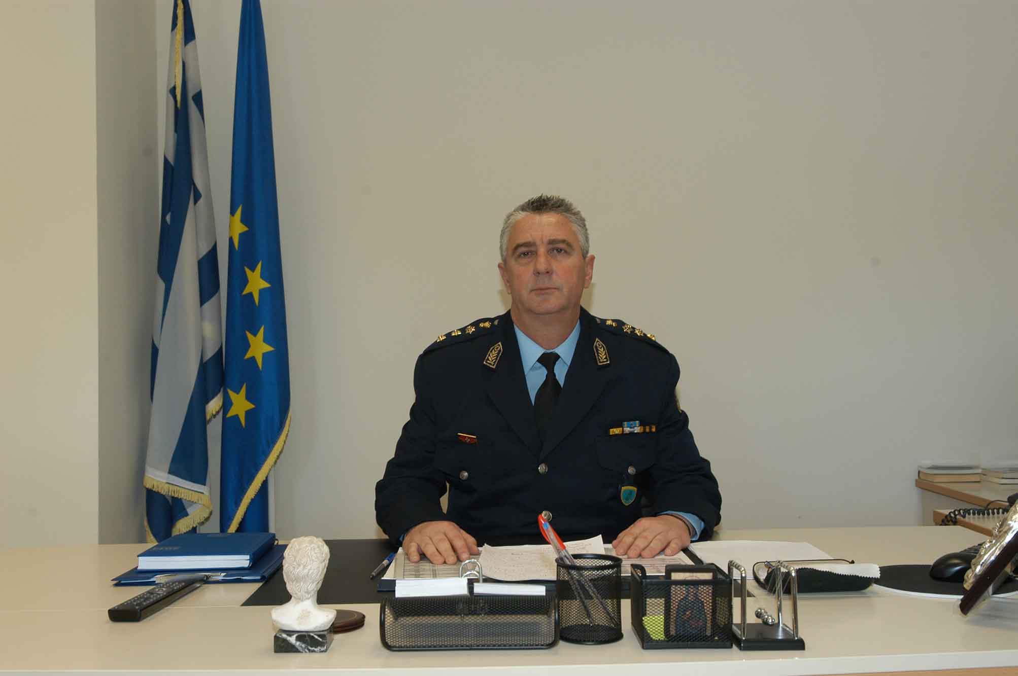 Nέος Γενικός Περιφερειακός Αστυνομικός Διευθυντής Δ. Μακεδονίας ο Δημοσθένης Χρήστου