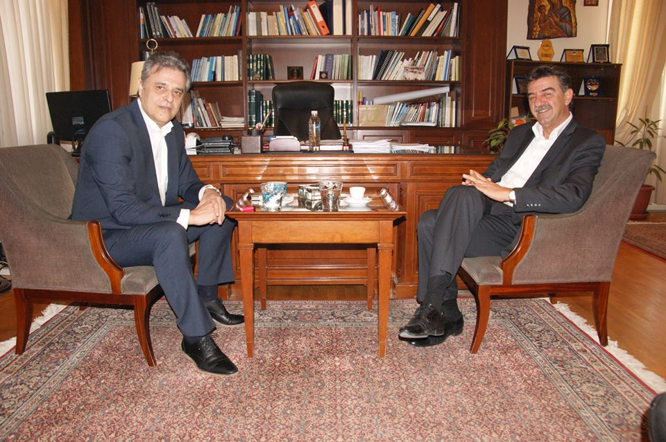 Στον Δήμαρχο Γρεβενών ο Γενικός Γραμματέας του Υπουργείου Εθνικής Άμυνας, Γιάννης Ταφύλλης