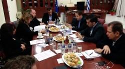 Σύσκεψη Ν.Ε. και Βουλευτών ΣΥΡΙΖΑ Π.Ε. Κοζάνης με τον Περιφερειάρχη Δυτικής Μακεδονίας για την υγεία