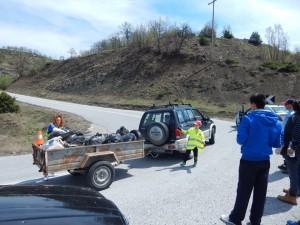 Πραγματοποιήθηκε με πολύ μεγάλη επιτυχία η εθελοντική εκστρατεία Let's Do it Greece από την Τοπική Κοινότητα Μεγάρου – Διαδρομή Μέγαρο-Καληράχη