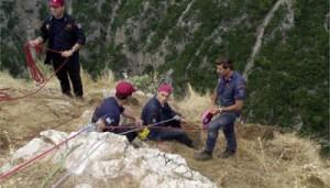 Αίσιο τέλος για τον τραυματισμένο ορειβάτη στη Βάλια Κάλντα