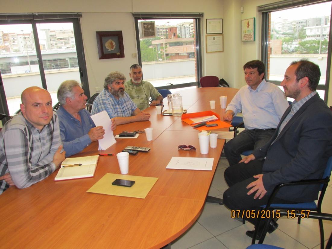 Τον Πρόεδρο της Κ.Ο.ΜΑ.Θ επισκέφθηκε ο πρόεδρος του Κυνηγετικού Συλλόγου Γρεβενών