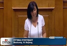 Ερώτηση βουλευτών του ΣΥΡΙΖΑ με θέμα τα τιμολόγια Ηλεκτρικού Ρεύματος (Συνυπογράφει η Ουζουνίδου Ευγενία)