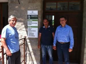 Συνάντηση Γ. Κασαπίδη με Αθ. Κοσματόπουλο για δημιουργία πιλοτικής καλλιέργειας αρωματικών-φαρμακευτικών φυτών στο Δ. Σερβίων-Βελβεντού