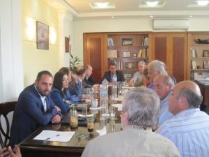 Σύσκεψη για τη Λίμνη της Καστοριάς στην Αντιπεριφέρεια υπό την προεδρία του Περιφερειάρχη Θ. Καρυπίδη