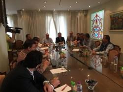 Ο Κυριάκος Χαρακίδης στην Κοζάνη για την Ημέρα της Ευρώπης