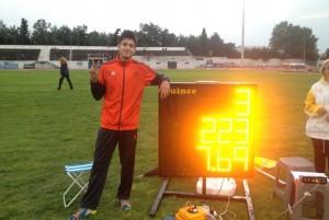 Εκ νέου πανελλήνιο ρεκόρ παίδων για τον Γρεβενιώτη αθλητή Μίλτο Τεντόγλου !!!