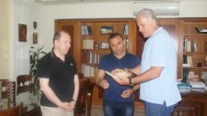 Επίσκεψη του Pavlo Simtikidi στον Αντιπεριφερειάρχη Καστοριάς