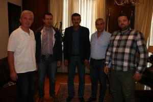 Εθιμοτυπική επίσκεψη δέχθηκε  ο Δήμαρχος Γρεβενών κ. Γιώργος Δασταμάνης από τον νεοεκλεγέντα Βουλευτή Γρεβενών κ. Χρήστο Μπγιάλα
