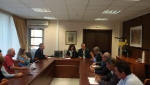 Επίσκεψη του Συμπαραστάτη του πολίτη και της επιχείρησης στα Γρεβενά