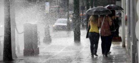 Δελτίο επιδείνωσης του καιρού με ραγδαία πτώση της θερμοκρασίας και καταιγίδες