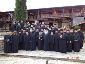 Πραγματοποιήθηκε η τακτική Ιερατική Σύναξη όλων των κληρικών της Ιεράς Μητροπόλεως Γρεβενών στην Ιερά Μονή Μεταμορφώσεως του Σωτήρος –Οσίου Νικάνορος Ζάβορδας
