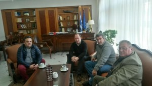 Το νέο ΔΣ της ΕΔΗΚΑ επισκέφτηκε τον Αντιπεριφειάρχη Καστοριάς