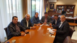 Ο βουλευτής Γρεβενών κ. Χρήστος Μπγιάλας συναντήθηκε με τον αντιπεριφερειάρχη Γρεβενών και τους δημάρχους Γρεβενών και Δεσκάτης