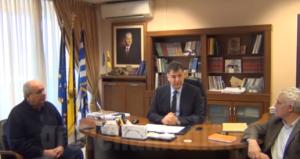 Επίσκεψη του υπουργού περιβάλλοντος κ. Γιάννη Τσιρώνη στα Γρεβενά (video)