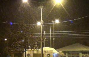 Εντείνεται κατά διαστήματα η χιονόπτωση στην πόλη της Κοζάνης! Δείτε το βίντεο