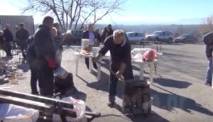 Γουρνοχαρά στο Καλαμίτσι Γρεβενών (βίντεο)