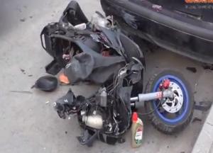 Γρεβενά: Ατύχημα στην γέφυρα της Καλαμπάκας (video)