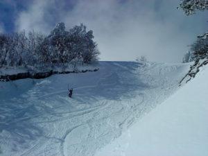 Παραμένει πολύ καλή η ποιότητα χιονιού στις πίστες της Βασιλίτσας